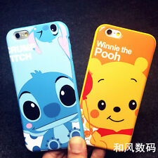 Winnie the Pooh Stitch Cartoon Popular Cute case cover Pouch for iPhone 6 6SPlus