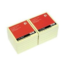 5 Star Re-Move Post It Notes Repositionable 100 Sheets 76x76mm Pack of 12