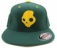 SKULLCANDY SKULLDAYLONG J-FIT HAT – COLOR: GREEN – SIZES: S/M, L/XL – NEW!!!