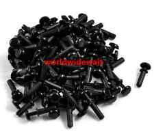 New R3035 Nylon Push Rivets Fasteners for 1.0-2.0mm Thick Panel Black
