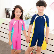 Summer Children Piece Rash Guard Surfing Surf Clothing Scuba Snorkeling Wetsuit