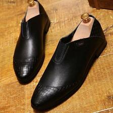 Sib New Men's Dress Formal Pointed Toe Slip On Loafers Leather Wedding Shoes new