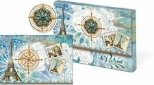 Punch Studio Brooch Portfolio 10 Note Cards and Envelopes – Paris France 57975