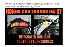 HONDA CBR 1000RR 2004-2007 INTEGRATED LED TAILLIGHT AND LED FRONT TURNSIGNALS