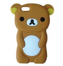Cute 3D Rilakkuma Brown Teddy Bear Case Cover For Apple iPhone Samsung iPod iPad