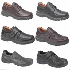 NEW MENS SMART OFFICE EXTRA COMFORT WORK CASUAL FORMAL SHOES SIZE