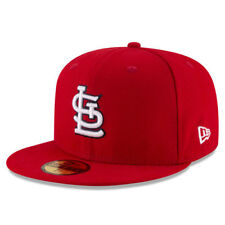 St. Louis Cardinals New Era Title Detailer 59FIFTY Fitted Hat - Red - MLB