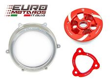 Ducati Panigale 1199 Ducabike Clutch Cover Silver+Spring Retainer+Pressure Plate