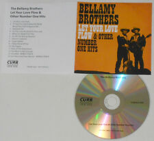 Bellamy Brothers - Let Your Love Flow & Other #1 Hits - 14 Track U.K. Promo CD