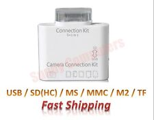 Camera Connection Kit 5-in-1 SD TF MS MMC Card Reader 8Pin For iPad Air Pro Mini