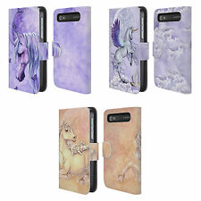 SELINA FENECH UNICORNS LEATHER BOOK CASE FOR BLACKBERRY ASUS ONEPLUS PHONES