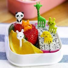 New Cartoon Animal Food Fruit Picks Forks Bento Lunch Box Accessories Decor B
