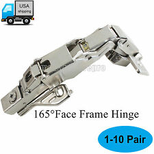 165° Face Frame Concealed Soft Close Kitchen Cupboard Door Hinges Full Overlay