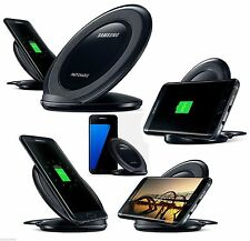Genuine For Samsung Galaxy S7 Edge S7 S6 Fast Qi Wireless Charger Pad With Stand