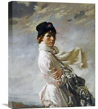 'In Dublin Bay' by Sir William Orpen Painting Print on Wrapped Canvas
