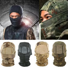 Outdoor Motorcycle Bike Riding Full Face Mask Head Cover Hood Balaclava Tactical
