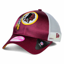 Washington Redskins NFL Women's Satin Chic Trucker New Era Snapback Hat Cap DC