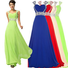 Grace Karin Bridesmaid Evening Formal Party Cocktail Long Maxi Dress Gown Prom