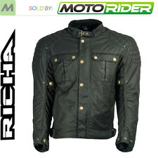 Richa Scrambler Retro Classic Motorcycle Cafe Racer Textile Jacket | Black
