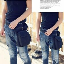 New Canvas Travel Hiking Motorcycle Riding Fanny Pack Waist Thigh Drop Leg Bag
