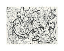 McGaw Graphics Number 14: Gray by Jackson Pollock Graphic Art