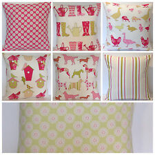 Ashley Wilde Mix Match Watermelon Dog Bird House Chicken Boots Cushion Cover