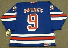 ADAM GRAVES New York Rangers 1996 CCM Vintage Away NHL Hockey Jersey