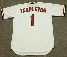 GARRY TEMPLETON St. Louis Cardinals 1977 Majestic Cooperstown Baseball Jersey