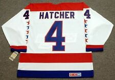 KEVIN HATCHER Washington Capitals 1990 CCM Vintage Home NHL Hockey Jersey