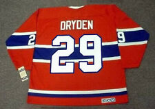 KEN DRYDEN Montreal Canadiens 1971 CCM Vintage Throwback NHL Hockey Jersey