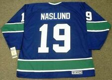 MARKUS NASLUND Vancouver Canucks 1970's CCM Vintage Throwback NHL Hockey Jersey