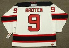 NEAL BROTEN New Jersey Devils 1995 CCM Throwback Home NHL Hockey Jersey