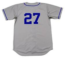 TOMMY LASORDA Brooklyn Dodgers 1955 Majestic Cooperstown Away Baseball Jersey