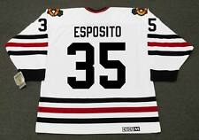 TONY ESPOSITO Chicago Blackhawks 1970 CCM Vintage Throwback NHL Hockey Jersey