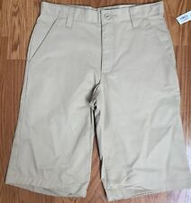 Old Navy Khaki Boys Casual & Uniform 4 Pocket Cotton Shorts Size 8,16, 5, 6 NWT