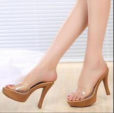 Sexy Pumps Ladies Sandal High Heels Open Toe Platform Womens Shoes Slipper new