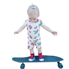 Baby Girl Rompers Strawberry Printed Clothes For Summer Toddler Girls Jumpsuits