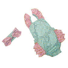 Baby Girl Jumpsuits Infant Girls Polka Dot Ruffle Rompers Kids Boutique Clothing