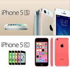 Apple iPhone 5S 5C 16GB 32GB 4G LTE iOS GSM Unlocked Smartphone Multi- Colors
