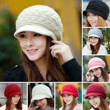 Women Lady Winter Fashion Warm Hat Knitted Crochet Slouch Baggy Beanie Cap New