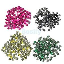 100pcs Punk Rock Pyramid Studs Spots Spikes for DIY Bag Craft Leathercraft