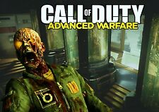 CALL OF DUTY ADVANCED WARFARE ZOMBIES GAME Poster Print A2 A3 A4