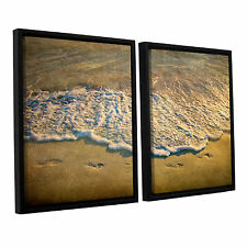 At Waters Edge by Antonio Raggio 2 Piece Framed Photographic Print on Canvas Set