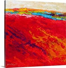 Canvas On Demand 'Abstract Landscape IV' by Marion Rose Painting Print on Canvas