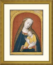 'The Virgin and Child' by Master Of The Dijon Madonna Framed Painting Print