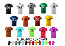 Mohammad ALI T-Shirt Peoples Champ - boxing mohammad ali Cassius Clay Tshirts