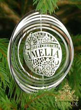 PERSONALISED Christmas Decorations / Christmas Tree Decorations BOYS NAMES