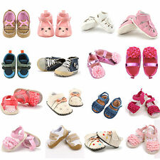 Infant Toddler Baby Boys Girls Kids Soft Sole Shoes Sneaker Sandal Canvas Shoes