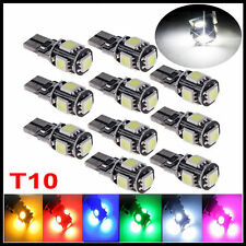 T10 501 194 168 W5W 5SMD LED ERROR FREE CANBUS Car Side Light Bulbs Wedge Lamps