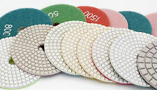 Diamond Polishing Pads 10 Pack of 4 inch Wet or Dry Granite Stone Concrete SALE